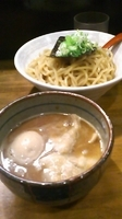 「豚玉つけ麺(大盛)」@二代目つけ麺屋 桜の写真