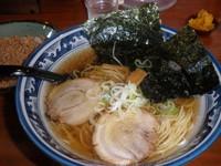 「蔵特製ラーメン(630円)挽肉半ご飯(158円)細麺あっさり」@ラーメン 蔵の写真