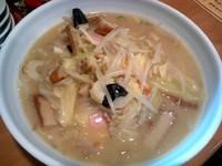 「鶏ちゃんぽん¥850」@爆じゅう餃子 餃点の写真