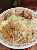 「煮卵ジパングメン」@ジパング軒 宇都宮駒生店の写真