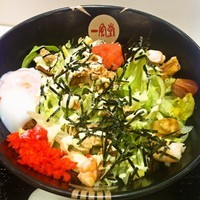 「東京スカイもんじゃ麺」@IPPUDO NOODLE EXPRESS 東京ソラマチ店の写真