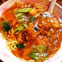「肉スタミナ冷やし麺」@ラーメン 現代の写真