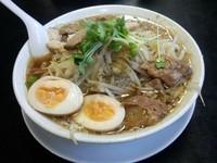 「ビッグウェーブ+味玉」@麺の家 渚の写真
