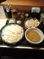 「特製つけ麺中盛」@つけ麺 道の写真