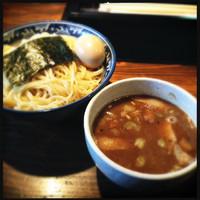 「味玉つけ麺醤油」@らーめん嗟哉の写真
