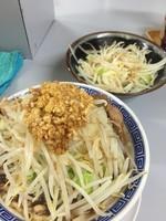 「にぼふじ麺、野菜ちょい増し、ニンニク多め」@鶏とふじの写真