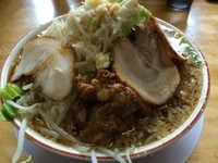 「ビックウエーブ肉まし大盛  950円」@麺の家 渚の写真
