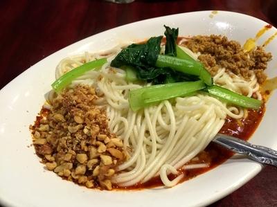 「汁なし担々麺+生ビール」@中国家庭料理 楊 池袋店の写真