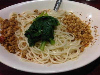 「汁なし坦々麺(ランチ880円)」@中国家庭料理 楊 池袋店の写真