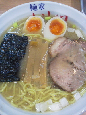 「ら~麺\730+味玉子(クーポン)」@麺家 いし川の写真