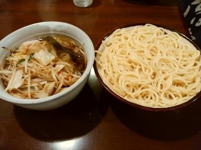 「野菜つけ麺(中盛同料金)950円」@東池袋大勝軒 高崎吉井店の写真