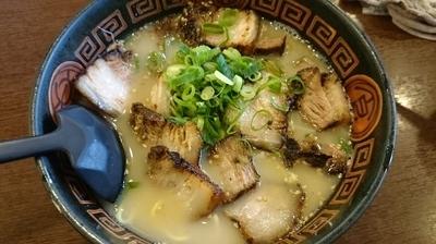 「チャーシューメン:とんこつ醤油」@にんにくラーメン 幸ちゃんの写真