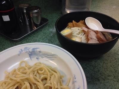 「小つけ麺【850円】」@ラーメン二郎 新宿小滝橋通り店の写真