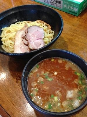 「濃厚つけ麺エビ風味 830円」@はりけんラーメンの写真