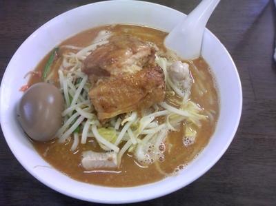「味噌チャーシューメン(大盛)+ 味玉(ラーパス)」@陽気軒の写真