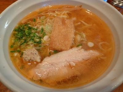「あっさり魚出汁・エビ風味・塩」@はりけんラーメンの写真