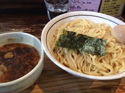 「平打味玉つけ麺(中盛)」@らーめん嗟哉の写真