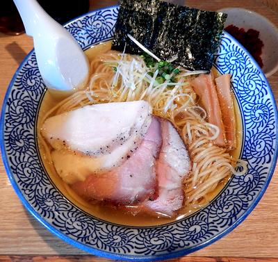 「【1月 月曜・食数限定】鶏そば+辛味(900円)」@麺屋 一燈の写真