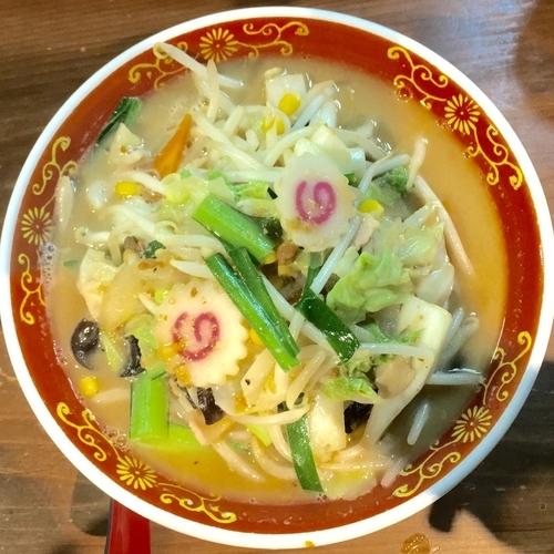 「野菜味噌タンメン780円」@タンメン専門店 満菜の写真