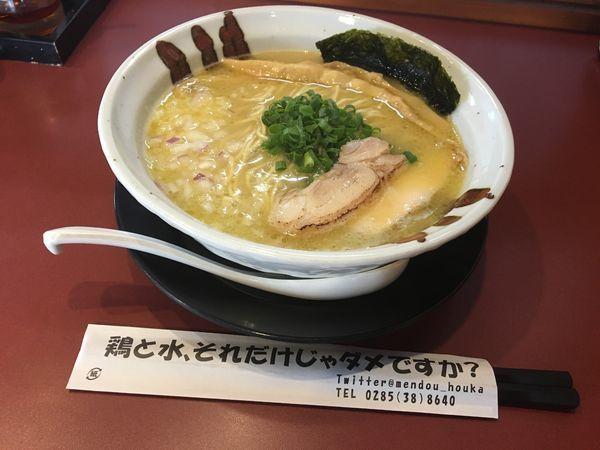 「鶏そば(塩)」@麺童 豊香の写真