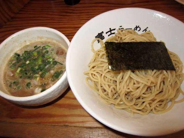 「つけ麺 850円」@富士らーめんの写真