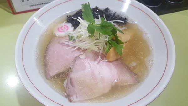 「煮干しと浅利の塩そば」@溝ノ百合の写真
