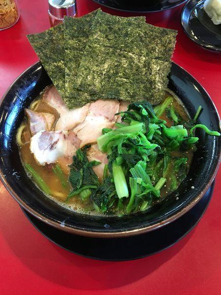 「チャーシュー麺」@家系ラーメン たつ家の写真