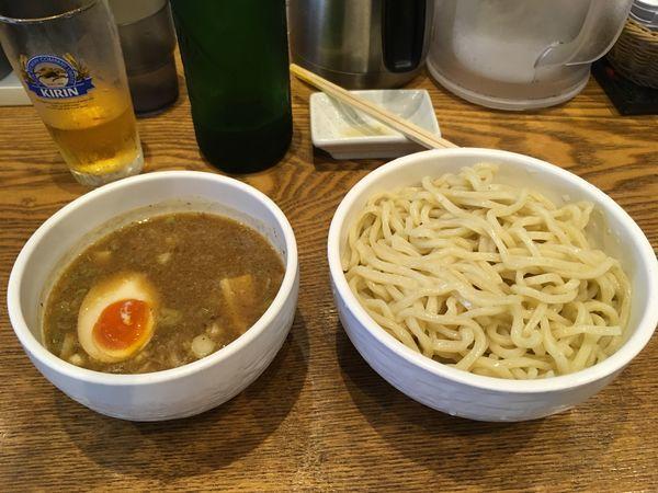 「濃厚魚介豚骨つけ麺」@麺屋はつがい 荻窪店の写真