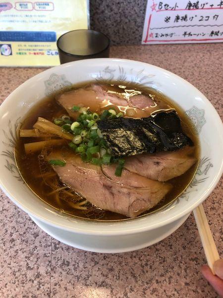 「チャーシュー麺 醤油  980円」@ラー麺専門店 こしがやの写真