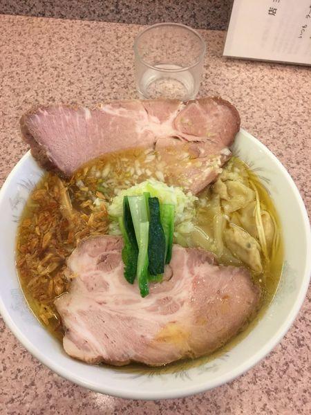 「塩ねぎチャーシュー麺」@ラー麺専門店 こしがやの写真