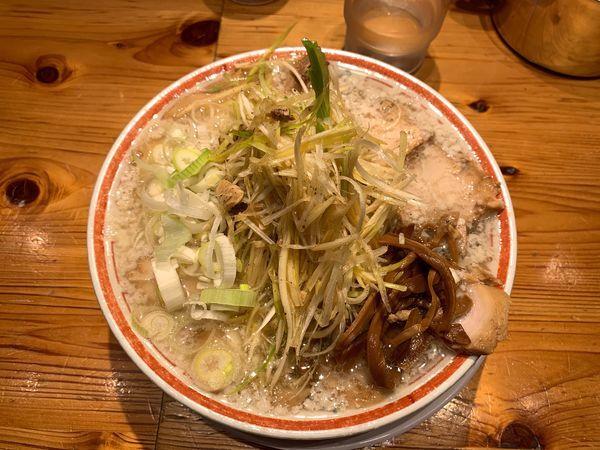 「こってりねぎ肉そば1150円」@田中そば店 秋葉原店の写真