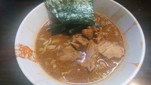 「魚介味噌ラーメン+半ライス」@麺屋 優創の写真