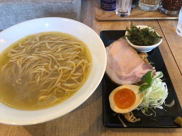 「【2周年限定】五種の貝の汐980円」@らぁめん蓮華の写真