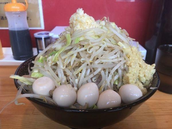 「小ラーメン+しょうが+うずら卵¥930」@ラーメン ほしのの写真