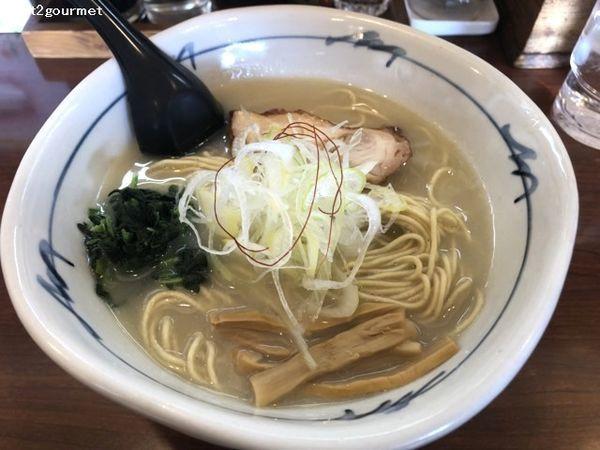 「地鶏白湯ラーメン (850円)」@そうげんラーメンの写真