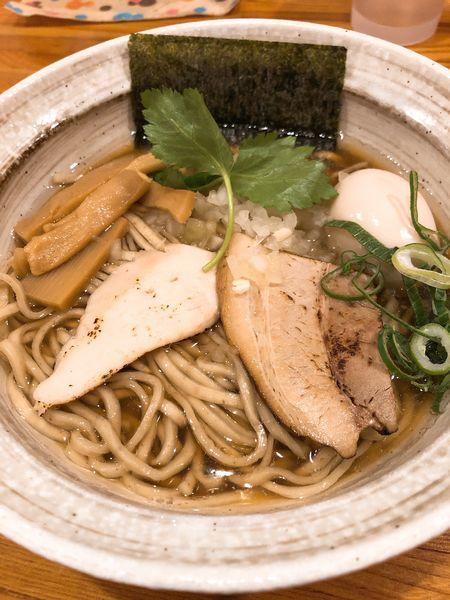 「煮干しそば 並 ¥780+味玉 ¥100」@麺屋 ひな多の写真