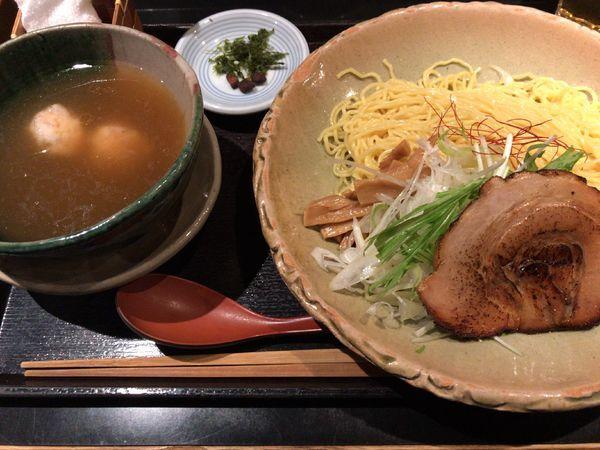 「銀笹つけ麺(塩)」@麺処 銀笹の写真