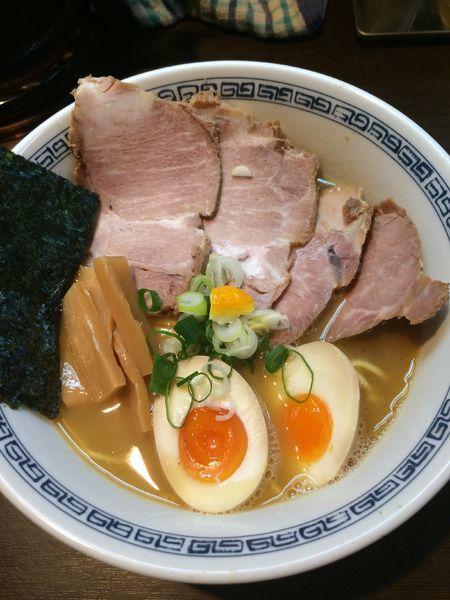 「焼き豚らーめん1100円」@らーめん はやしの写真