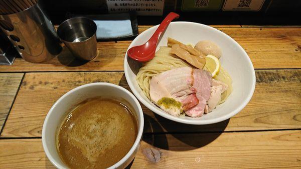 「特製鶏白湯つけ麺  大盛」@麺屋 翔 本店の写真