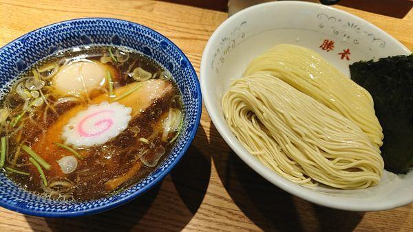 「味玉清湯つけそば(930円)」@神田 勝本の写真