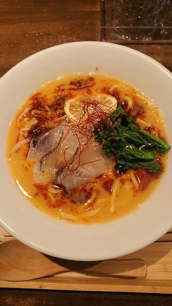 「真鯛担々麺」@真鯛らぁめん まちかどの写真