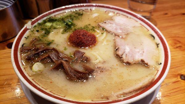 「山形味噌ラーメン900円」@田中そば店 秋葉原店の写真