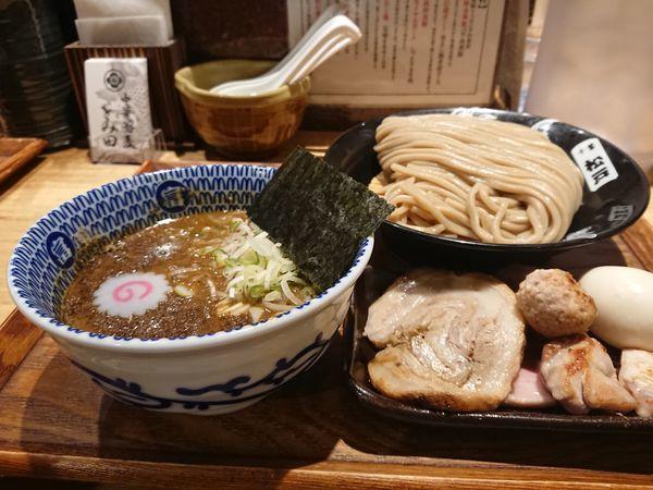 「つけめん+特選全部トッピング」@中華蕎麦 とみ田の写真