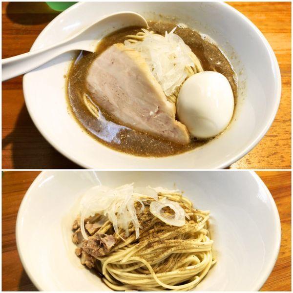 「味玉付き+和え玉 ¥850+¥200」@煮干中華ソバ イチカワの写真