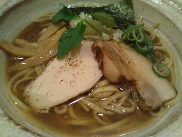 「煮干しそば(並)780円」@麺屋 ひな多の写真