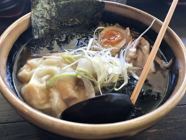 「海老ワンタン麺」@和風ラーメン わらべの写真