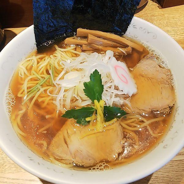 「清湯そば+ネギ」@神田 勝本の写真