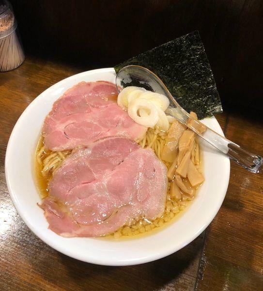 「背脂鶏醤油らぁ麺 ¥650」@Soupmenの写真