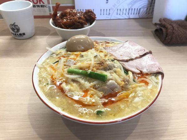 「1、2酸ダァ〜麺【酸辣湯麺】」@まるぎん商店の写真