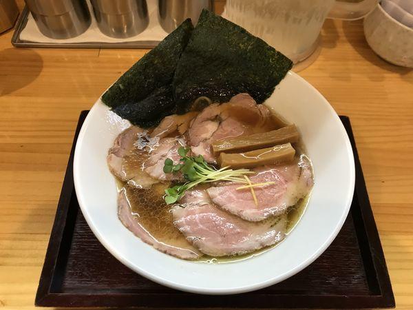 「チャーシュー醤油そば」@麺屋 希楽夢の写真